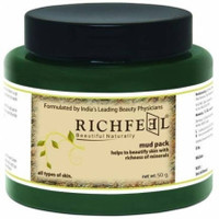 Richfeel Skin Care Face Mud Pack Anti-Aging Cleanser Large Size 500g