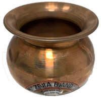 copper lota, coper kalash,  puja lotta