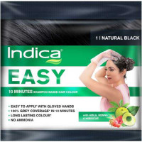 INDICA Easy Hair Color Dye 3.16 Natural Black
