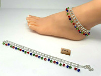 GA-12 Anklets Payal Pajeb a2 iNDIAN jEWELRY