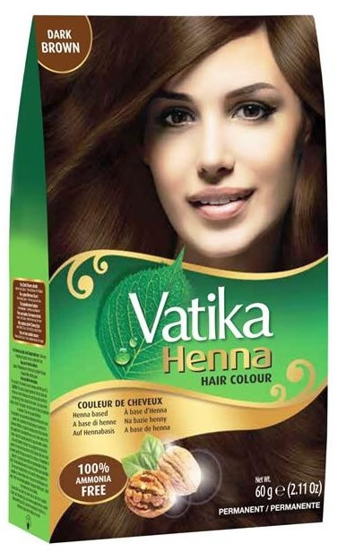 Vatika Henna Hair Color Dark Brown