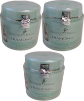 Salon Size 3pc Diamond Facial Kit - Lotion Scrub Mask