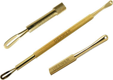 Blackhead Extractor Stainless Steel Gold Plated