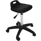 PRO-2611 Black All-Purpose Air-Lift  Saddle Stool with Star Base