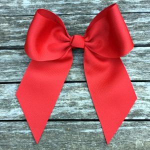 The Wanda Large Bow - Red