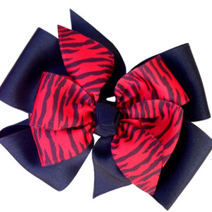 Black/Red Zebra
