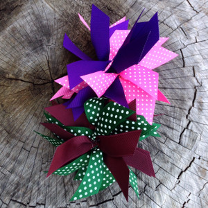 Purple/Hot Pink and Maroon/Hunter