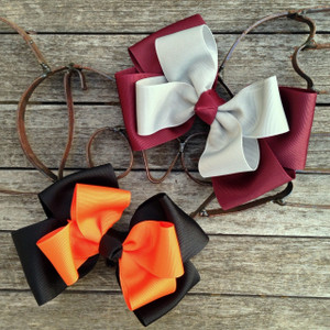 Maroon/Grey and Black/Orange