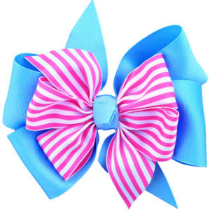Light Blue/Pink Stripe