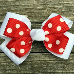 The Siena Marie Junior Polka Dot- Red & White