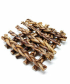 "12""  BRAIDED BULLY STICKS - LOW ODOR!! {1 POUND} {APPROX. 6-7 PIECES}"