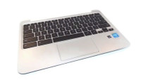 HP 11 G3/G4 Chromebook Palmrest w/Keyboard Only