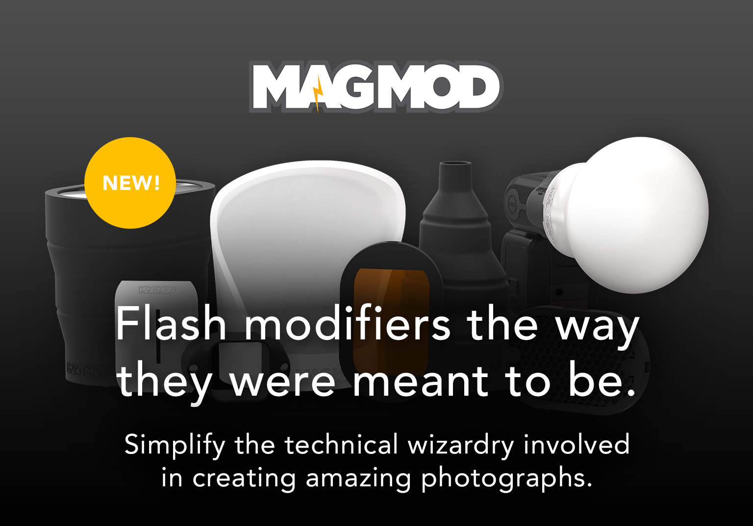 MagMod - Flash modifiers the way they were meant to be. Simplify the technical wizardry involved in creating amazing photographs.