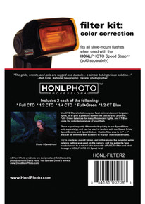 Honl Photo Color Correction Kit