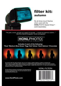 Honl Photo Autumn Filter Kit