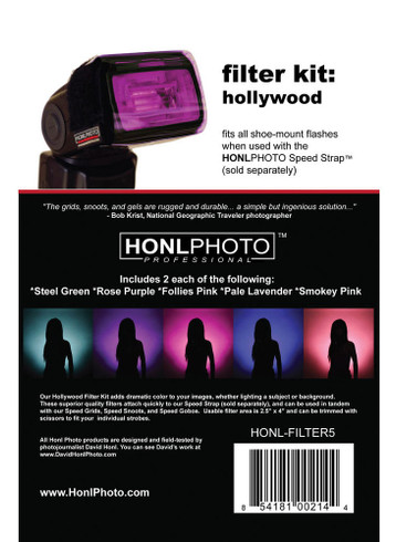 Honl Photo Hollywood Filter Kit