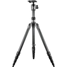 GK1580TQR5 Series 1 Traveler 6x Carbon Fiber Tripod with Magnesium Center Ball Head