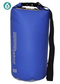 OverBoard 20L Waterproof Dry Tube Bag - Blue