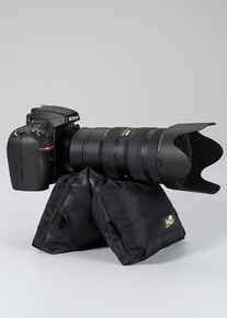 Bean Bag Camera Mount - LensCoat LensSack Jr. provides exceptional stability for cameras with smaller lenses like a 300mm f2.8 or a 100-400 zoom lens.