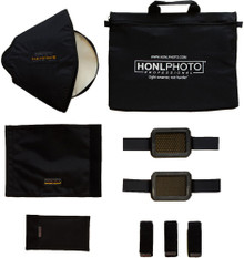 Honl Photo 9 Piece Advanced Small Flash Lighting Kit
