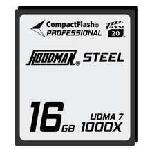 Hoodman Steel 16GB CompactFlash Card