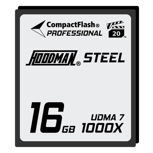 Hoodman Steel 16GB CompactFlash Card