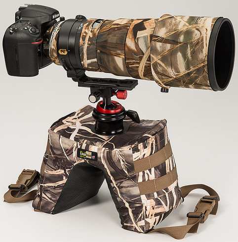 Realtree Max4 HD pictured with a UniqBall on 300 lens (not included)