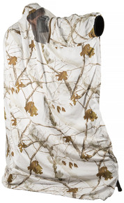 LensHide by LensCoat pictured in Realtree Snow pattern.