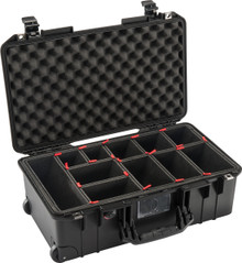 Pelican Air Case 1535 - configured with TrekPak Divider System.