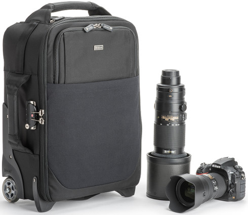 Airport International v3.0 Rolling Camera Bag for 2 DSLRs and Laptop by Think Tank Photo.