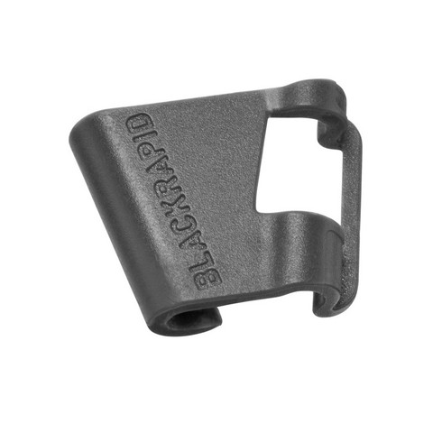 The LockStar Breathe is made of dark grey ABS plastic