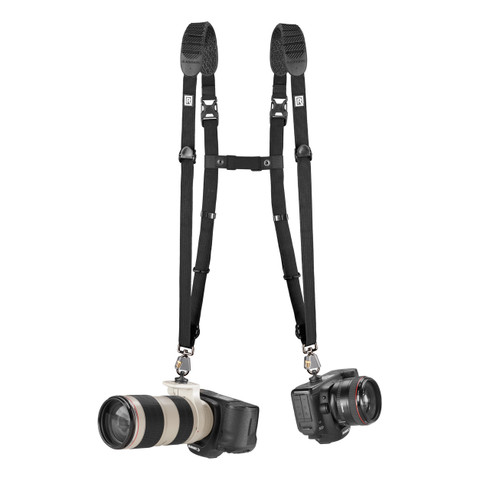 CoupleR Breathe Accessory with two camera straps connected