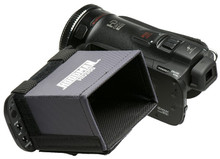 "Hoodman HD Camcorder Hood fits 2.5'- 3"" HD LCD screens"