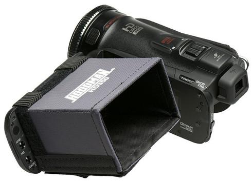 "Hoodman HD Camcorder Hood fits 3.5"" HD LCD screens"