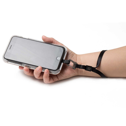 Smartphone wrist strap system keeps your mobile phone safe and secure!
