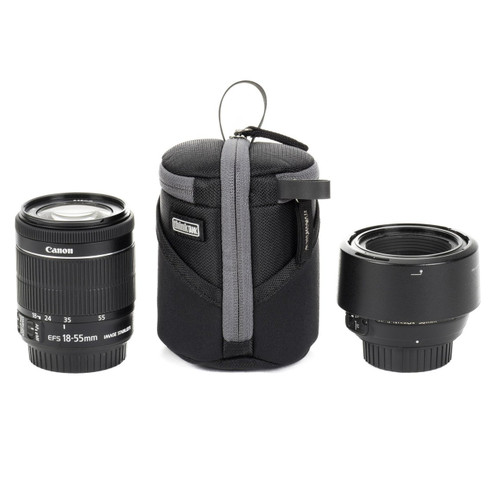 Lens Case Duo 5 pictured with lenses (gear not included).