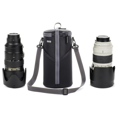 Camera Lens Bag - Lens Case Duo 40 (pictured with camera lenses; gear not included).