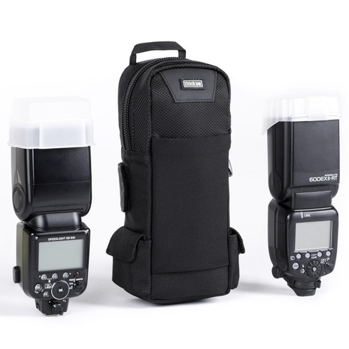 Flash Mob v3.0 - Camera Flash/Strobe Modular Belt Case pictured with gear (gear not included).