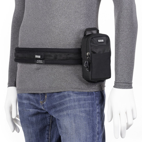 Little Stuff It! v3.0 attached to Think Tank Photo belt (belt not included; sold separately).