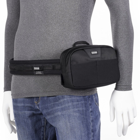 Slim Changer v3.0 attached to Think Tank Photo belt (belt not included; sold separately).