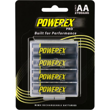 Powerx PRO Rechargeable AA NiMH Batteries (1.2V, 2700mAh)