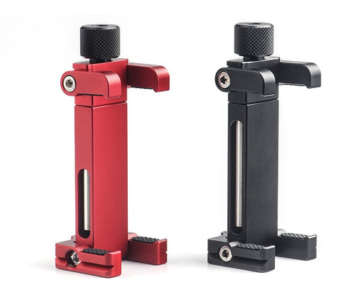 Professional Mobile Phone Clamp available in red or black
