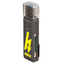Hoodman Superspeed USB3.0 SD/Micro SD Reader