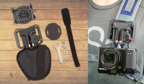 Spider Camera Holster BlackWidow Backpacker Kit