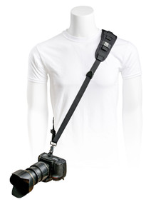 BlackRapid Delta Camera Sling Front - Black