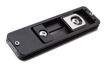 "Arca-Swiss Compatible Fusion Lens Plate - 5.25"" - Black"