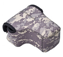 LensCoat BodyBag Compact with Lens (Digital Camo)