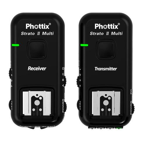 Phottix Strato II Multi 5-in-1 Trigger Set for Canon and Nikon