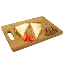 Personalized Bamboo Wood Cutting Board