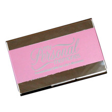 Custom Metal Pink Business Card Case Holder